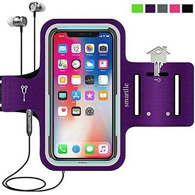Cell Phone Armband For IPhone X 8 7 6 6S, Samsung Galaxy S8 S7, With Case Sport