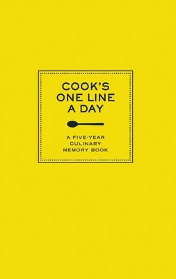 Cook's One Line a Day: A Five-Year Culinary Memory Book (Journals) ...
