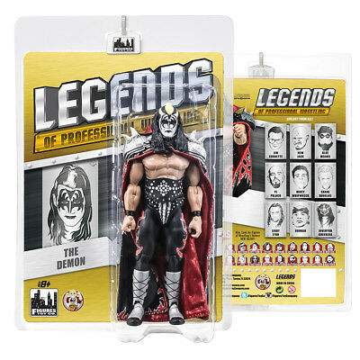 Legends of Professional Wrestling Series Action Figures: The Demon KISS