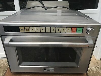Panasonic Pro 2 Commercial Microwave Oven NE-3280 Watts 208 Volts NSF-approved.