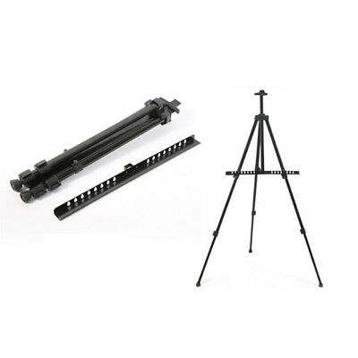 Artist Tripod Painting Easel Tripod Display Stand Shelf for Indoor & Outdoor