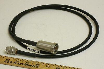 Anritsu 15NDF50-1.5C N Male to 7/16 DIN Female Test Port Extension Cable 1.5m