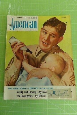 VTG The American: In Service of the Nation Magazine October 1944