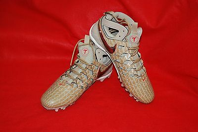 Nike Huarache V Elite LAX  Cleat Limited Edition 807120-200 Size 9.5