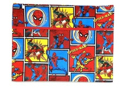 Spider man Toddler Pillowcase On Multi-Color Blocks Cotton SP16-5 New Handmade