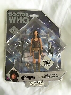 "Doctor Who Leela 5.5 "" Action Figure The Face Of Evil (Exclusive Signed) no.24"