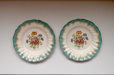 Pair of Vintage Royal Doulton Tea / Side Plates in the Lovely Kingswood Pattern