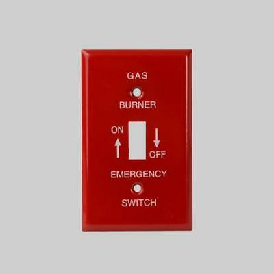 Diversitech for Devco PI394 Emergency Oil Burner Switch Wall Plate