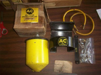 Nos Ac Oil Filter Remote Type K-101 S-6 1940's -1950's Gm