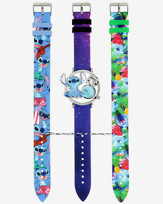 Disney Lilo & Stitch Interchangeable Analog Watch 3 Bands Licensed New in Box