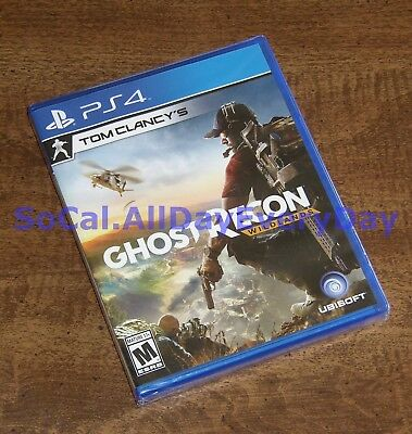 Tom Clancy's Ghost Recon: Wildlands (PlayStation 4) BRAND NEW FACTORY SEALED ps4