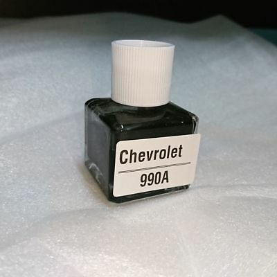 1 Day Shipping-For Chevrolet Pure Black Touch Up Paint Kit Color 990A Jet Black