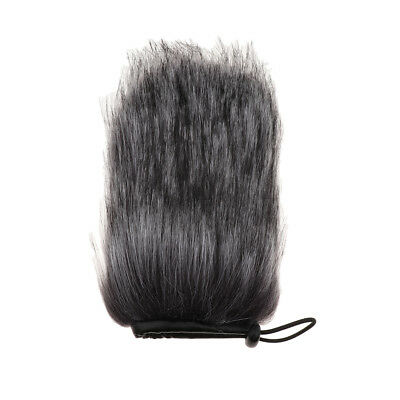 Furry Microphone Windscreen Windshield Muff Reduce Wind Noise for Mic Parts