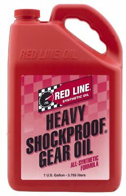 Red Line 58205 Proof Gear Oil Suspension of Solid Microscopic Particles  1 GAL