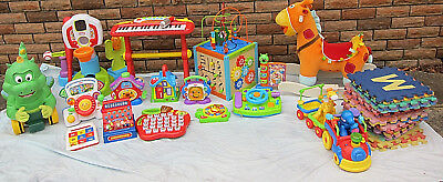 HUGE Lot x Toddler/ Baby Toys - Fisher Price / Leapfrog / Vtech / Little Tikes
