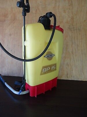 Hardi BP15 Back Pack Weed Garden Industrial Sprayer 15 Litre