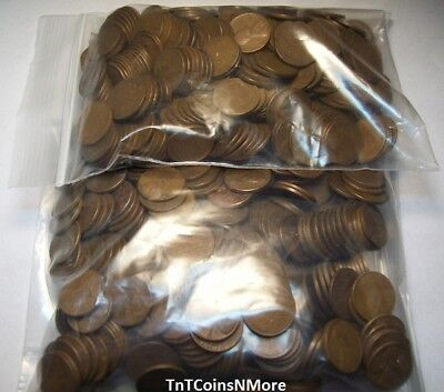 1909-1958 Lincoln Wheat Cent Penny Circulated Price PER EACH COIN From This Lot