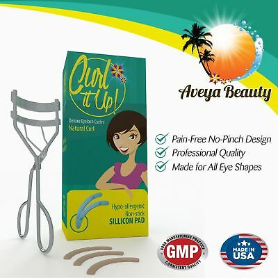Best Eyelash Curler - Perfect Lashes In Seconds - Love It Or Your! Create... New