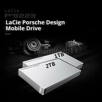 "Lacie STET1000400 1TB 2TB 2.5"" HDD Mobile Hard drive USB 3.0 5Gbps for Mac PC"