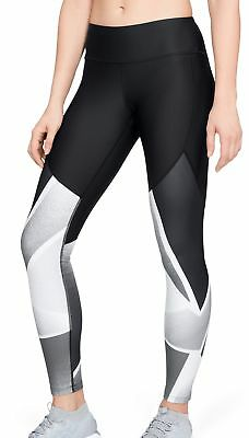 Under Armour Balance Q1 Graphic Womens Long Training Tights - Black