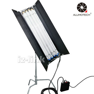 For Photography Studio Pro Kino 3200K&5500K LED Tubes+Ballast+7M Cable+C-Stand