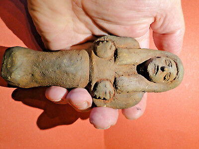 Superb Indus Valley Female Fertility Idol in Excellent Condition, (ca. 2000BC)