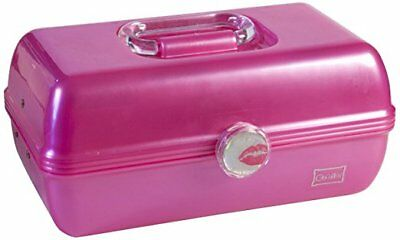 Caboodles On-The-Go-Girl Cosmetic Classic Storage Case Pink