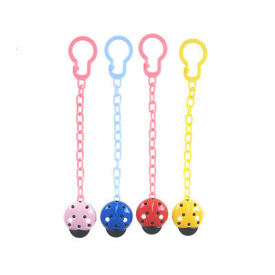 4Pcs Baby Newborn  Pacifier Clip Chain Strap Dummy Soother Nipple Holder ESUS