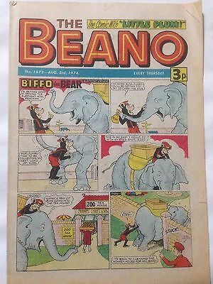 DC Thompson THE BEANO Comic. Issue 1672 August 3rd 1974 **Free UK Postage**