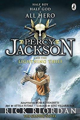 Percy Jackson and the Lightning Thief: The Graphic Novel (Book 1) by Rick...