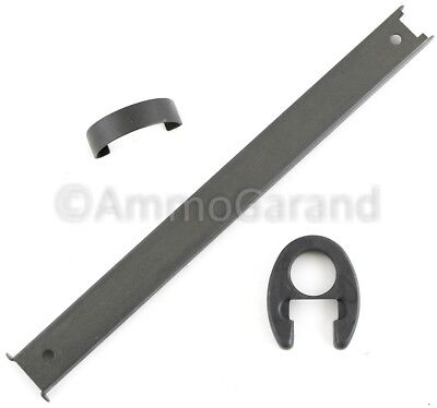 Front & Rear Hand Guard Clip Band, Liner Spacer, Ferrule for M1 Garand Part Grey