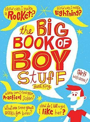 The Big Book of Boy Stuff by Bart King (Paperback, 2014)