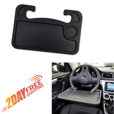 Car Steering Wheel Tray Computer Table Car Mount Eating Stander Desk Drink Holde