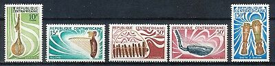Musical Instrument Of The Central African Republic - M.n.h. Set 1970