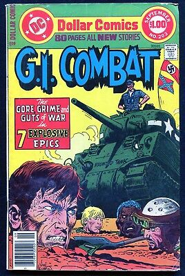 DC Comics - G.I. Combat, 80 pages #203, 1977 - $1.00  - Bagged/Boarded