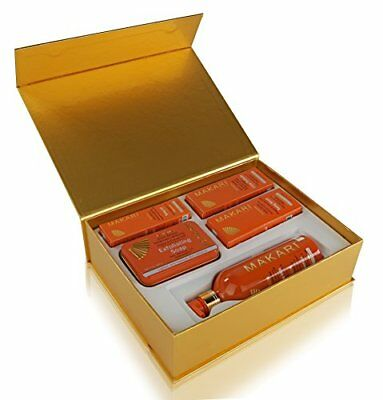 Makari Extreme Carrot & Argan Oil Skin Toning Gift Set – Lightening Treatment