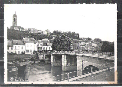 Thuin ; pont de la Sambre / carte photo