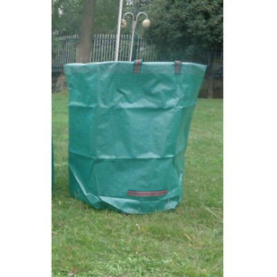 120L Large Garden Waste Bag Strong Rubbish Waterproof Duty Recycling Green