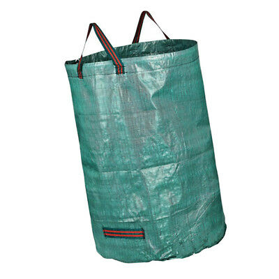 272L Garden Waste Bags - Heavy Duty Large Refuse Sacks with Handles New