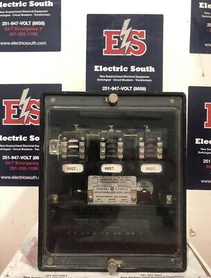 GE General Electric Overcurrent Relay 12HFC23C1A .5-4.0 Amp