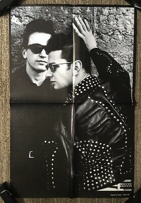 Depeche Mode Route 66 Vintage Poster  1980's Retro Music Promo Pin-up 80's