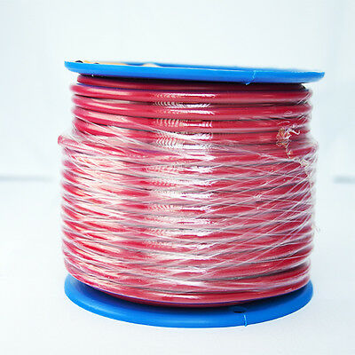 SINGLE CORE 6mm 10M RED WIRE CABLE 50 AMP CARAVAN TRAILER 4X4 AUTOMOTIVE 12V