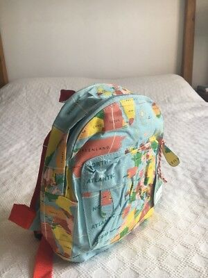 Childrens vintage world map mini backpack rucksack school bag atlas childrens vintage world map mini backpack rucksack school bag atlas globe gumiabroncs Image collections