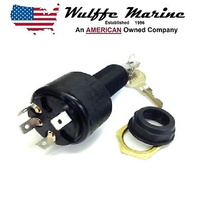Marine Ignition Switch 4 Position (Accessory-Off-Ignition-Start),Sierra MP39800