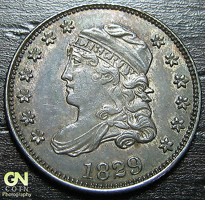 1829 Capped Bust Half Dime R3 V7 LM1  --  MAKE US AN OFFER!  #O5686