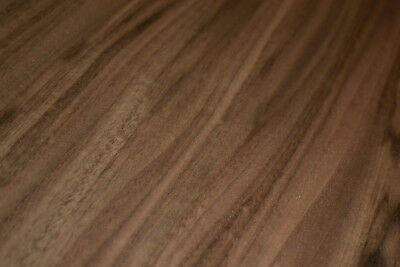 Walnut Raw Wood Veneer Sheets 9 x 45 inches 1/42nd                      c8708-14