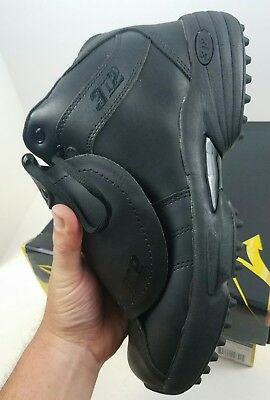 New 3N2 Black Reaction Umpire Plate Mid Shoe - Size 10.5