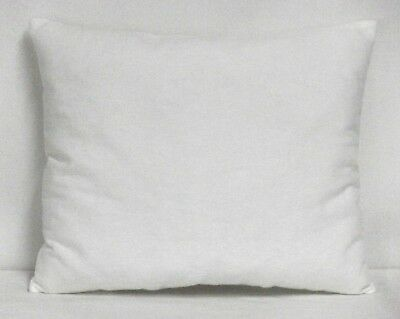 Toddler Pillow on Solid White Flannel  W23-17 New Handmade