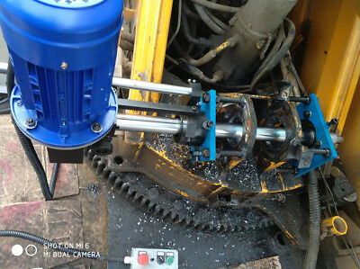 Portable Line Boring Machine for Repairing Excavator repair holes high quality