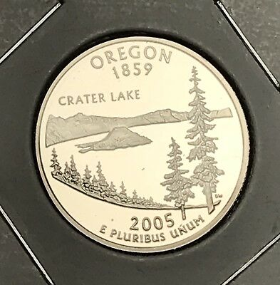 2005-S Oregon State Quarter Proof. Collector Coin For Collection Or Set.10